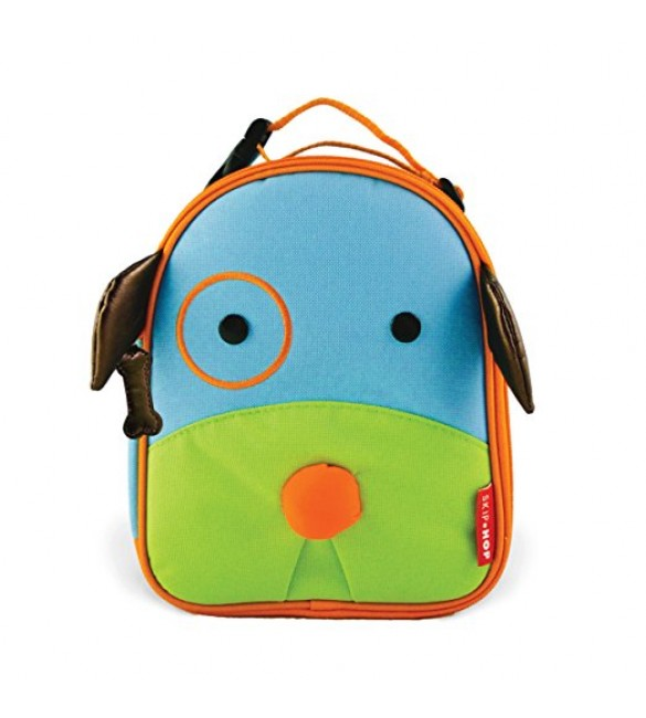 Skip Hop Zoo Insulated Lunch Bag, Darby Dog