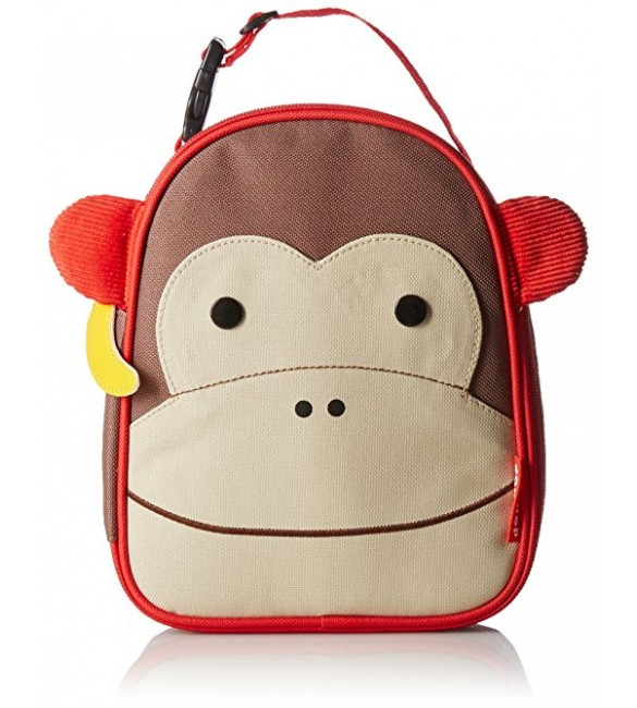 Skip Hop Zoo Insulated Lunch Bag,  Monkey