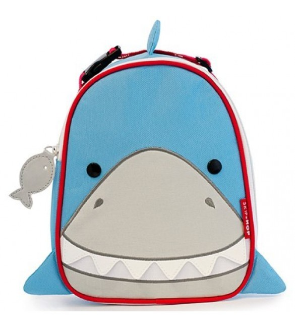 Skip Hop Zoo Insulated Lunch Bag, Shark