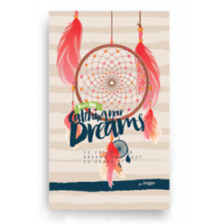 Note Small(Lined) - Small Dream Catcher Notebook -11x15cm