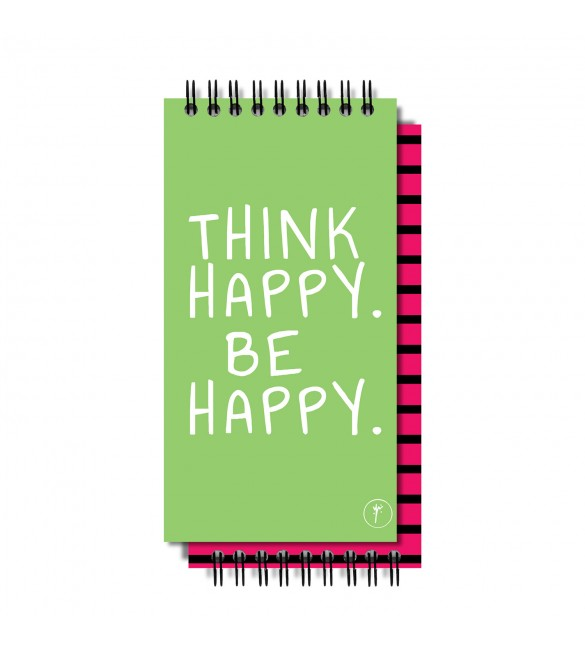 Think Happy Be Happy To-Do-List