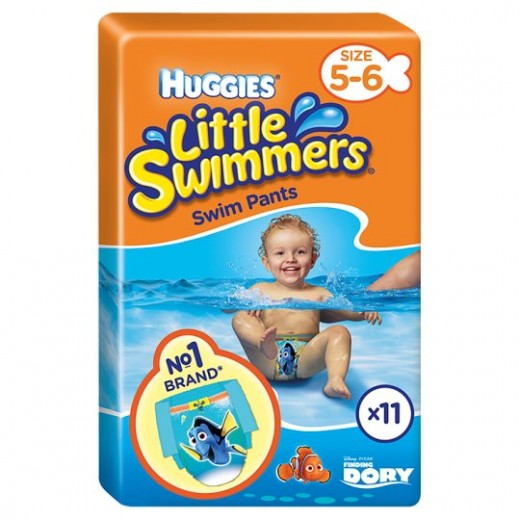 Huggies Little Swimmers size (5-6) 12-18KG 11 Diapers