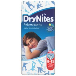 DryNites 8-15 years Jumbo Boy 27-57KG 13 pcs