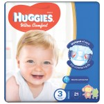 Huggies Convenience Size(3) 5-8KG 21 Diapers