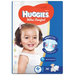 Huggies Jumbo Size (4+) 10-16KG 38 Diapers