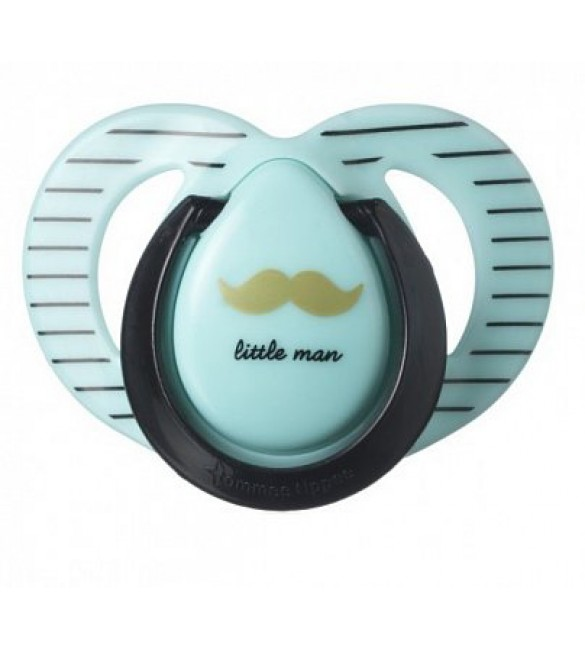 Tommee Tippee MODA  Soother-BLUE+BLACK