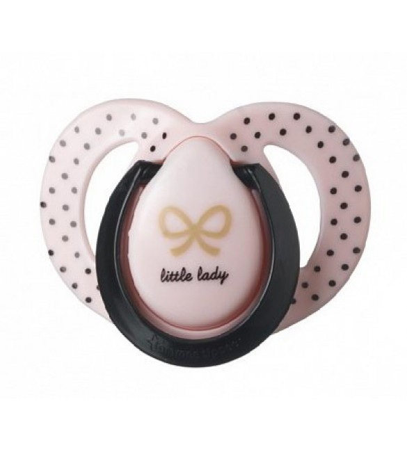 Tommee Tippee MODA  Soother-PINK+BLACK