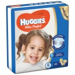 Huggies Convenience Size (6) 24 Diapers