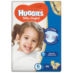 Huggies  Jumbo Size (6) 15-30GK 40 Diapers