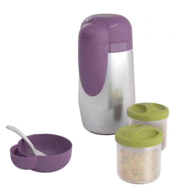 CHICCO THERMAL BOTTLE HOLDER & FOOD CONTAINER