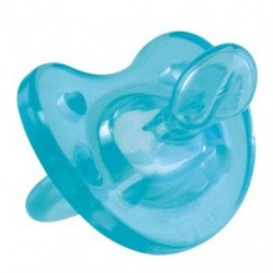 Chicco Physio Soft Soother Silicone (0M+) 1 Piece - Blue