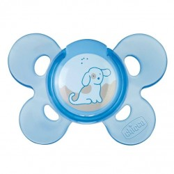 Chicco Physio Comfort Blue (0-6M) Silicone 1 Piece