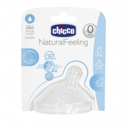 Chicco Natural Feeling Teat (0M+) Regular Flow 1 Piece