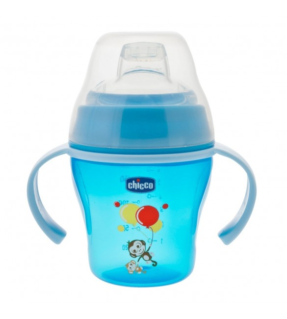 Chicco Soft Cup Blue (6m+)
