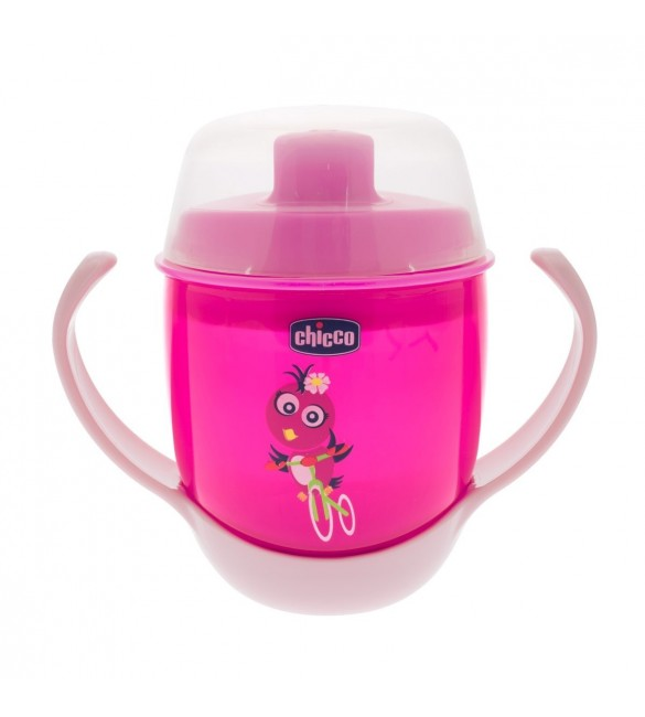 chicco Meal Cup 12M+ Pink