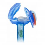 Chicco Clip With Teat Cover- Blue