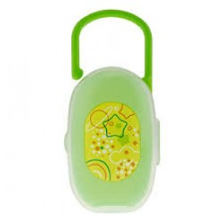 Chicco Soother Holder( 0m+) - Green