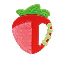 Chicco Fresh Relax Teething Ring (3M+) Strawberry