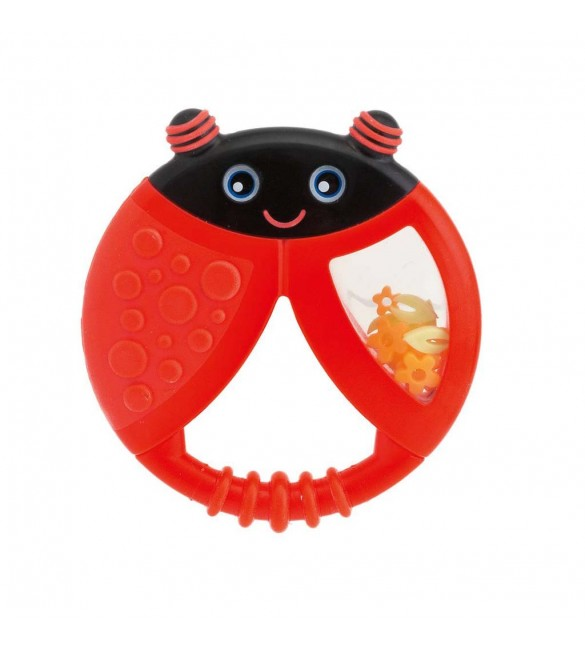 Chicco Funny Relax Teether 6M+ ladybug