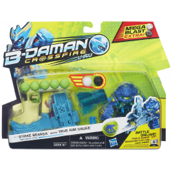 B-Daman Strike Bearga Figure with True Aim Barrel