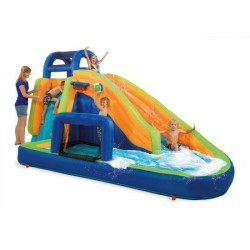 Newboy Mega Inflatable Water Slide with Swimming Pool
