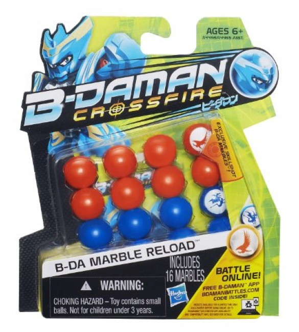 B-Daman Marble Reload (Blue/Orange)