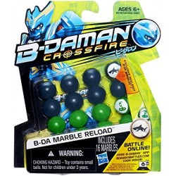 B-Daman Marble Reload (Green/Silver)