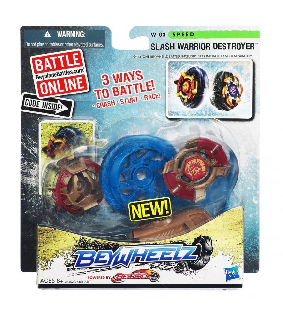 Beywheelz Battler - Slash Warrior Destroyer