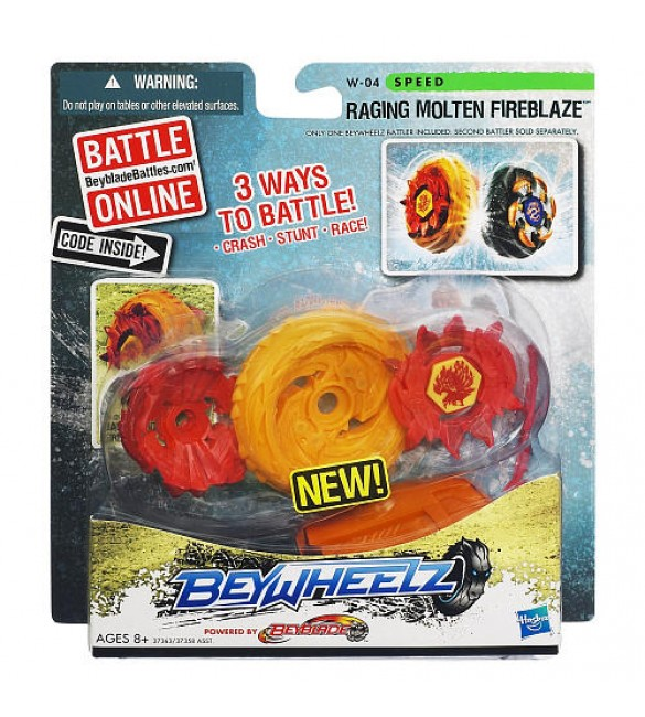 Beywheelz Battler - RAGING MOLTEN FIREBLAZE