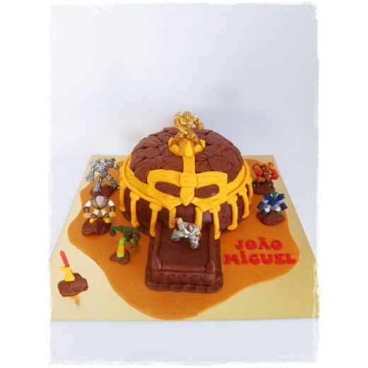 Gormiti - Cartoon Series Rock Temple Playset