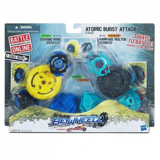 Beywheelz Atomic Burst Attack-Yellow