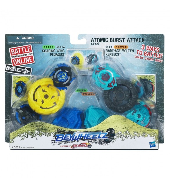 Beywheelz Atomic Burst Attack-Yellow