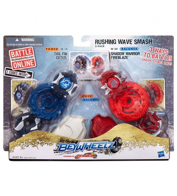 Beywheelz Rushing Wave Smash 2-Pack