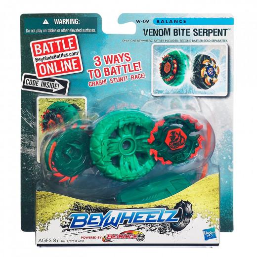 Beywheelz Battler #W-09 Venom Bite Serpent