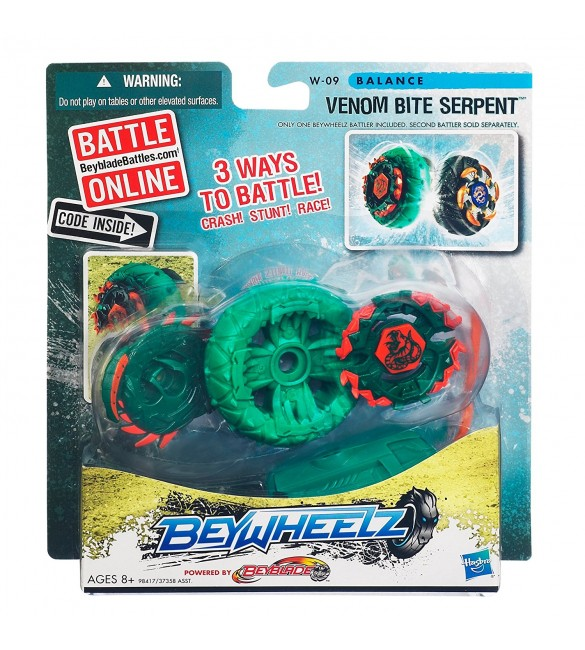 BeyWheelz - W-08 - Claw Shredder Kerbecs