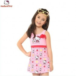 Hello Kitty Girls Swimming Suit - Fruit Patteren
