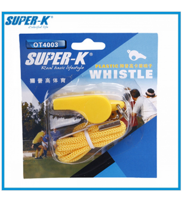 Super-K Whistle