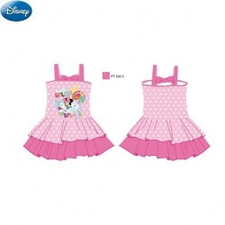 Disney Girls Swimming Dress - Pink