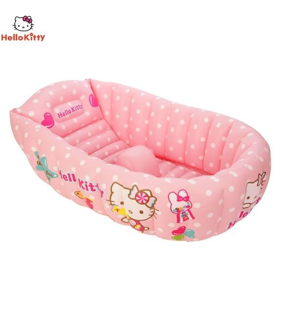 Hello Kitty Baby Tub With One set duck toys (One big & Three small)