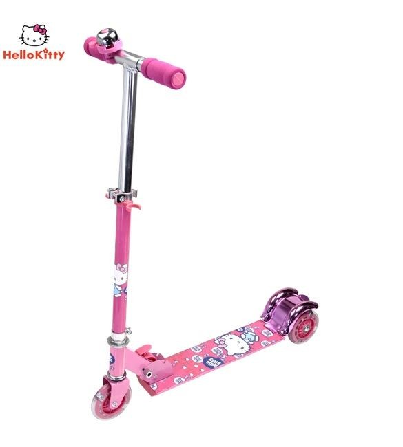 Hello Kitty Scooter-pink/purple