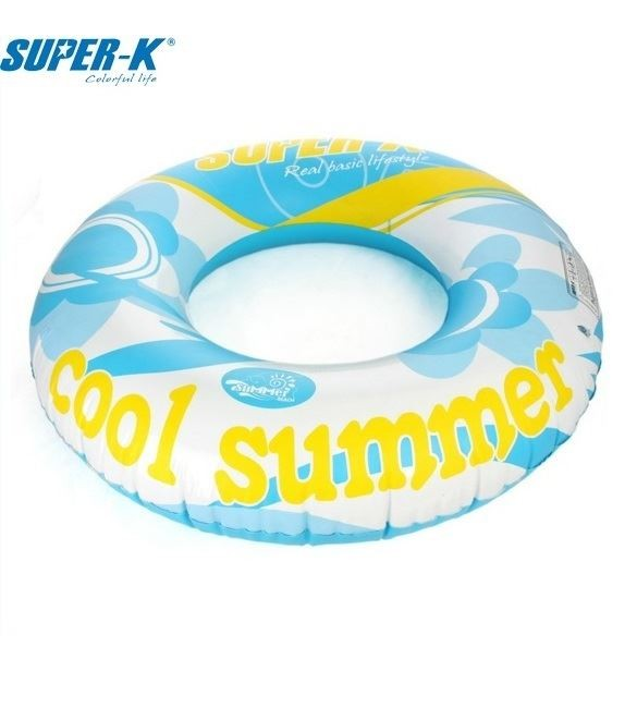 Super-K 100cm Inflatable Ring - Blue
