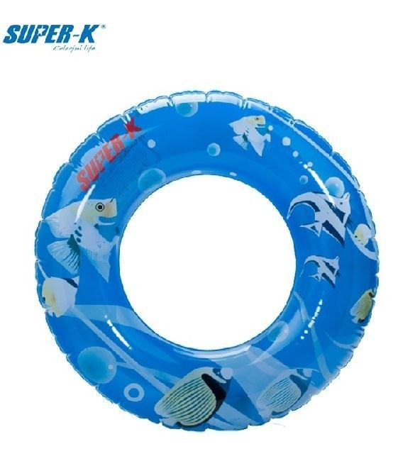 Super-K 80cm Inflatable Ring - Sea Pattern