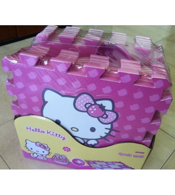 Hello Kitty Floor Mats 12P