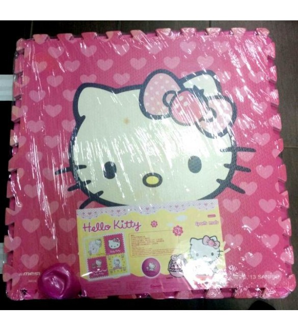 Hello Kitty Floor Mat 4P
