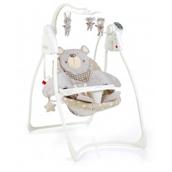 Graco Loving Hug Swing W/Plug, Bear & Friend