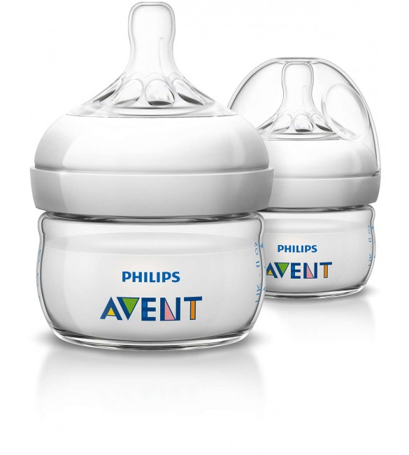 Avent Natural feeding bottle 60ml - single