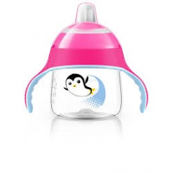 Philips Avent Spout Cup 200ML - Pink