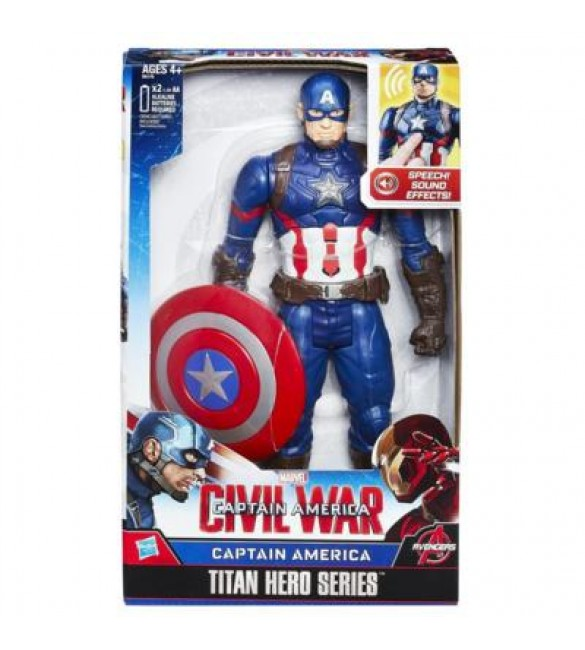 CIVIL WAR CAPTAIN AMERICA ELECTRONIC TITAN HERO