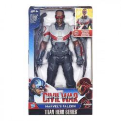 CIVIL WAR FALCON ELECTRONIC TITAN HERO