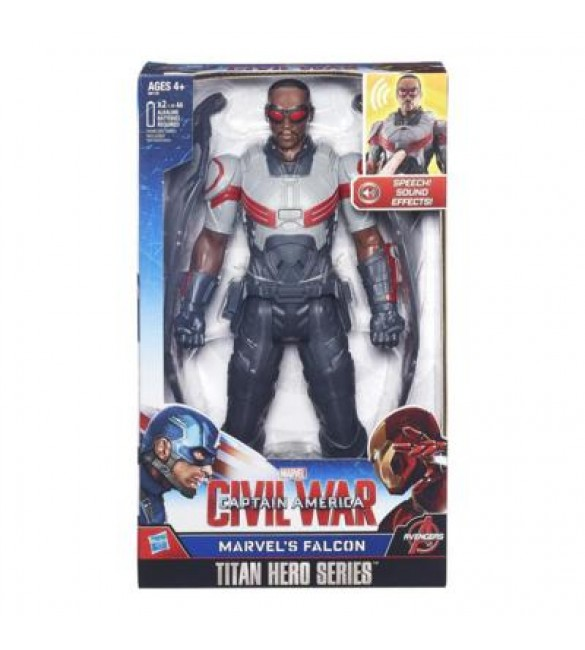 CIVIL WAR FALCON ELECTRONIC TITAN HERO
